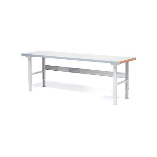 Stół roboczy SOLID, 750 kg, 2000x800 mm, stal, 23574