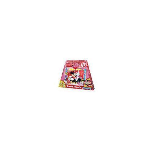 Clementoni puzzle 100 / 104 / 180 Puzzle 104 torebka minnie ozdoby