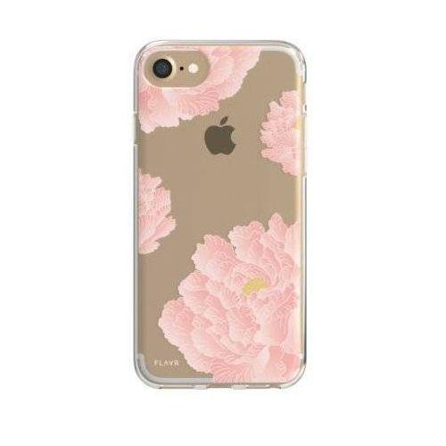 Etui FLAVR iPlate Pink Peonies do Apple iPhone 6/7/6s/8 Wielokolorowy (30033) (4029948065762)