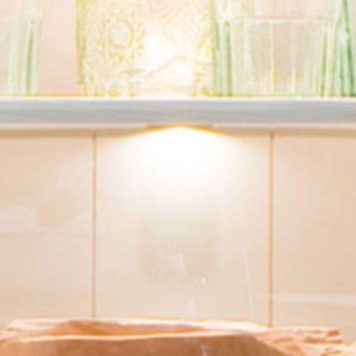 Fato luxmeble Oświetlenie led na półki szklane rosie zestaw 6 sztuk