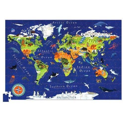 Puzzle Mapa Świata 200