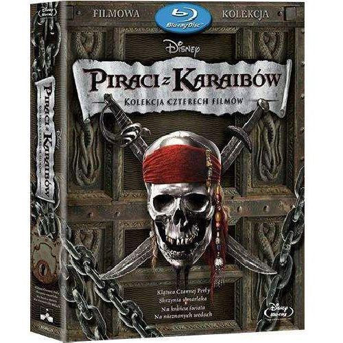 Piraci z Karaibów 1-4. Pakiet (4Blu-ray) (Płyta BluRay) (7321917502504)