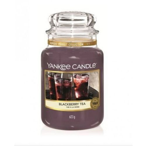 YANKEE CANDLE ŚWIECA BLACKBERRY TEA 623G, 5038581078649