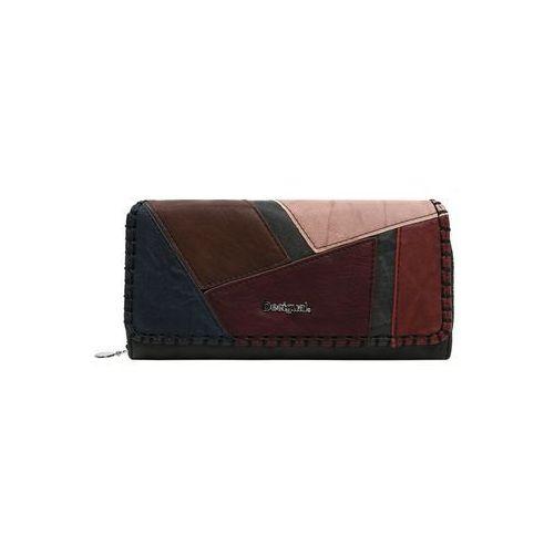 Desigual portmonetka 'mone_odin maria' ciemnobrązowy / mieszane kolory