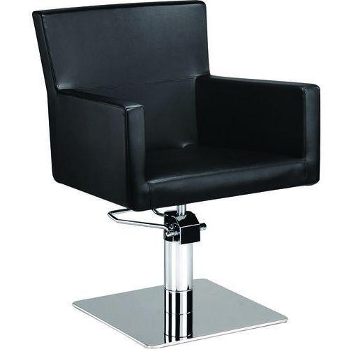 Fotel fryzjerski isadora czerwony/czarny 48h marki Ayala