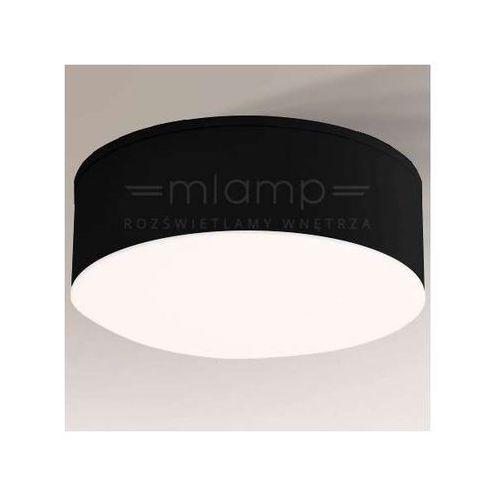 Plafon lampa sufitowa tottori il 1235/led/cz natynkowa oprawa okrągła led 10w czarna marki Shilo