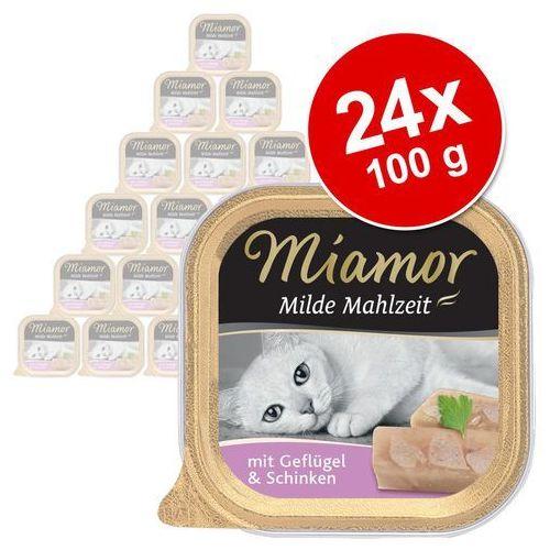 MIAMOR Milde Mahlzeit - konserwa mięsna smak: kura z szynką 16x100g (4000158750631)