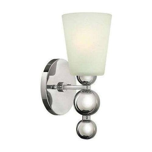 Hinkley Kinkiet lampa ścienna hk/zelda1 pn elstead metalowa oprawa w stylu retro kule nikiel biała
