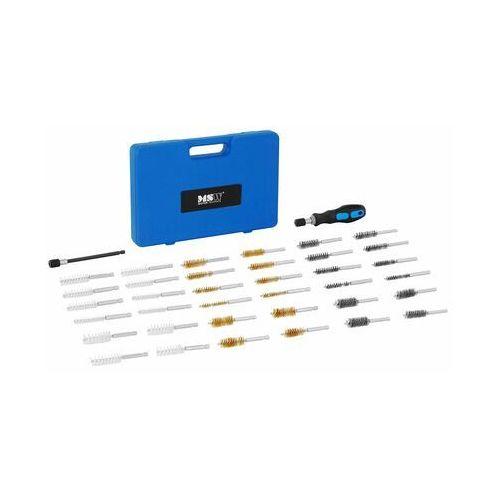 szczotki trzpieniowe - zestaw - 38 elementów msw-unv-11 - 3 lata gwarancji marki Msw