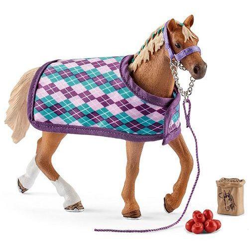 Schleich Koń pełnej krwi angielskiej z okryciem (4055744012402)