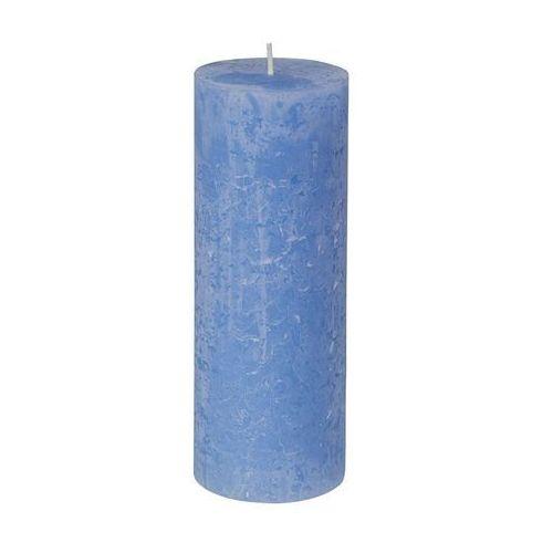 Bolsius Świeca pieńkowa rustic jeans blue- 19cm (8717847110602)