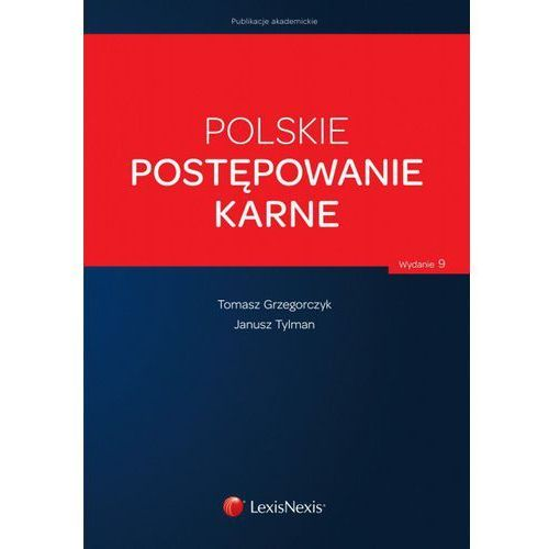 Polskie postępowanie karne (9788327805935)