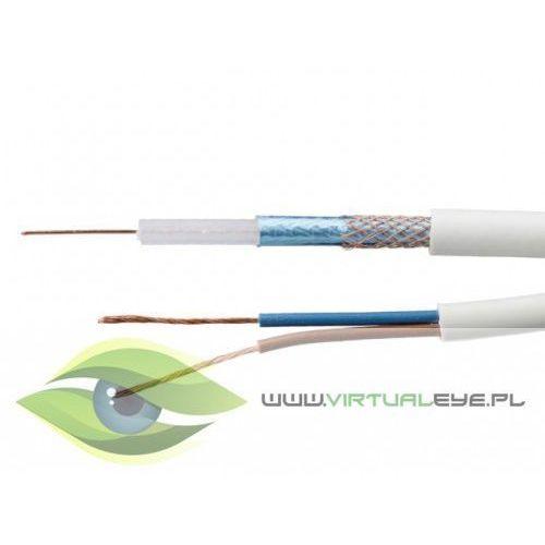 Przewód 2*0.35 biały ywdxek+lgy marki Virtualeye
