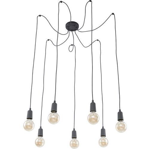QUALLE GRAY 2686 LAMPA WISZĄCA VINTAGE TK-LIGHTING (5901780526863)