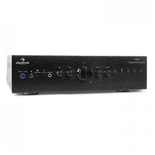 cd708 wzmacniacz hifi-stereo aux czarny 600w marki Auna