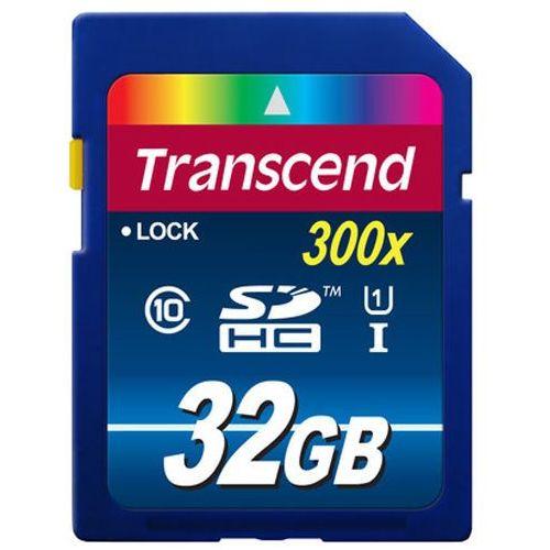 Transcend  sdhc 32gb premium 300x uhs-i