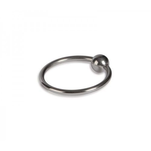 Podwójny Pierścień na Penisa z Kulką Sperm Stopper 25mm