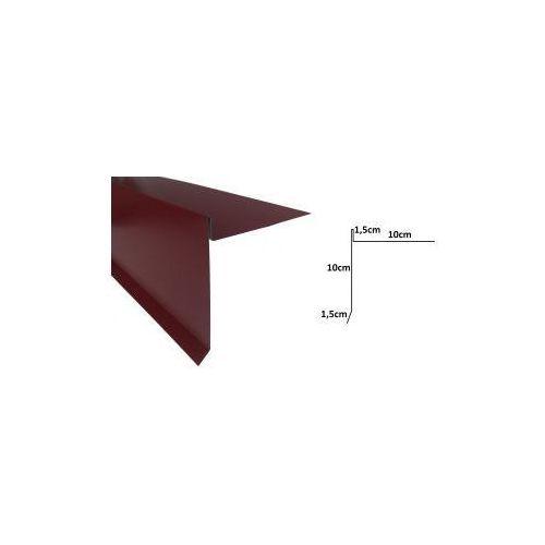 Wiatrownica długa pod gont bitumiczny lub papę - 0064 aluminium marki Bdp
