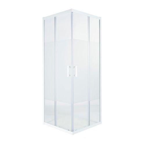 Cooke&lewis Kabina prysznicowa kwadratowa onega 70 cm biały/wzór (3663602944126)