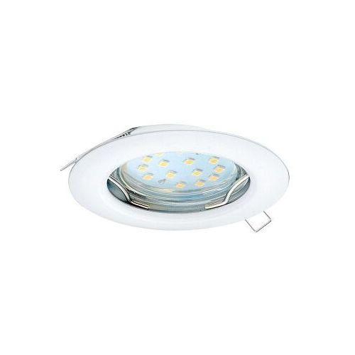 Eglo Peneto 98644 oczko lampa wpuszczana downlight 1x3W GU10 biały