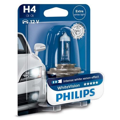 PHILIPS H4 WhiteVision 12V 60/55W P43t-38