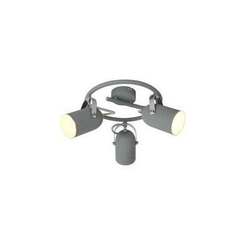 Plafon lampa sufitowa spirala spot Candellux Gray 3x40W E14 szary 98-66497, 98-66497