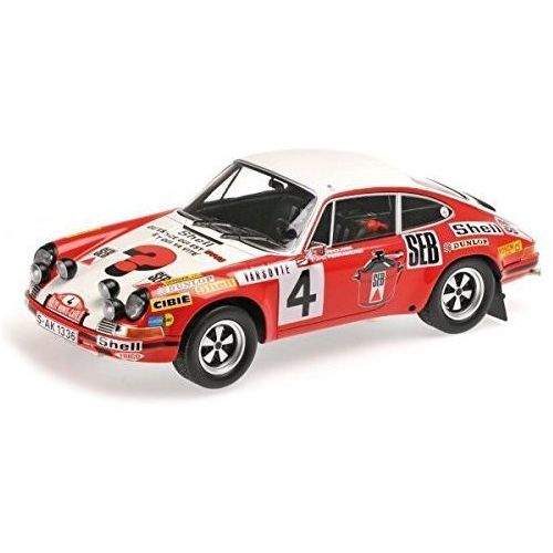 Porsche 911 S #4 Larrousse/Perramond 2nd Place Rallye Monte Carlo 1972 - DARMOWA DOSTAWA! z kategorii Osobowe