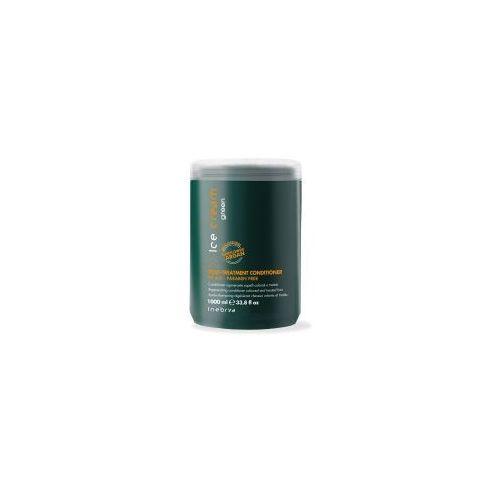 Inebrya  green post treatment, eko-odżywka do włosów osłabionych i zniszczonych zabiegami, 1000ml (8022297007151)