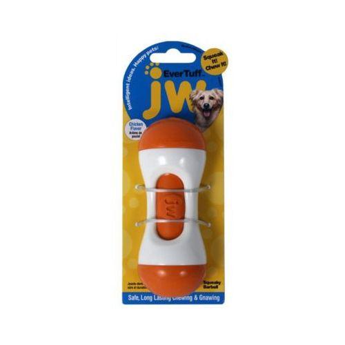12cm m evertuff squeaky barbell zabawka dla psa marki Jw