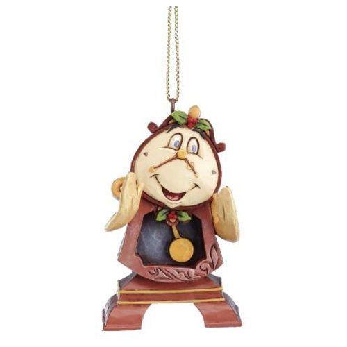 Zegar budzik cogsworth piękna i bestia a21429 7 cm. figurka ozdoba świąteczna marki Jim shore
