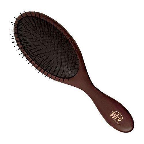 naturals medium wood | szczotka do włosów - ciemny drewniany brąz marki Wet brush