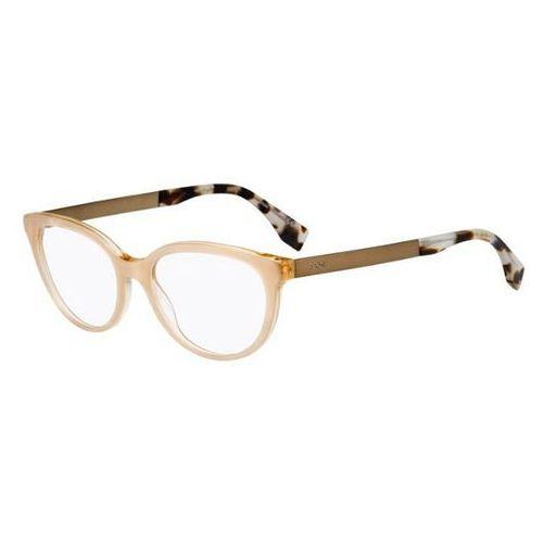 Fendi Okulary korekcyjne  ff 0079 fendi logo e0o