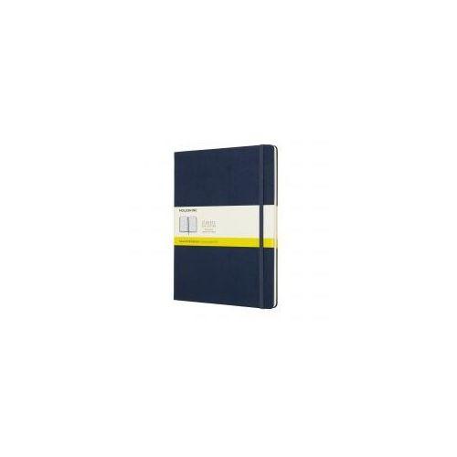 Notatnik Moleskine Classic XL kratka, twarda oprawa, szafirowy