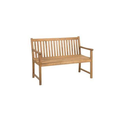 Akacjowa ławka ogrodowa 120 cm vivara marki Beliani