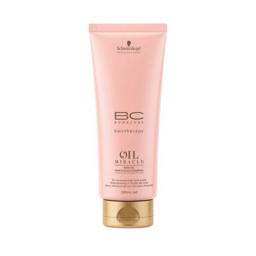 bc oil miracle rose oil shampoo | szampon pielęgnacyjny z olejkiem różanym - 200ml, marki Schwarzkopf