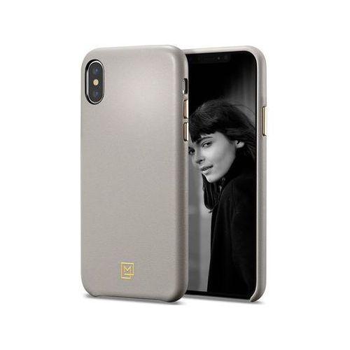 Etui Spigen LA Manon Calin iPhone Xs Max Oatmeal Beige