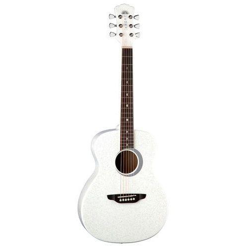 aurora borealis 3/4 wht - gitara akustyczna 3/4 marki Luna