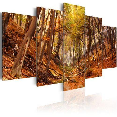 Obraz - Jesień w oranżu