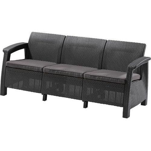 Allibert sofa corfu love seat max antracit