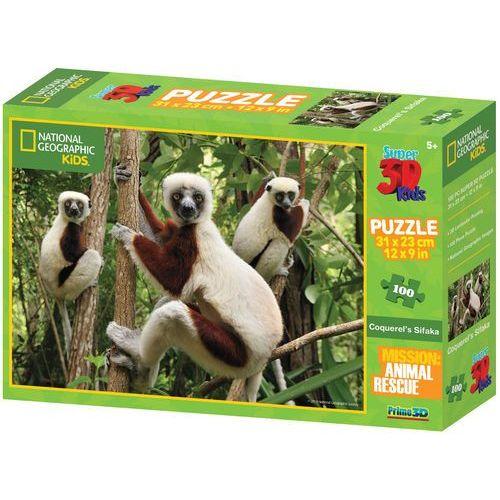 puzzle 3d kids lemury 100 el. marki Lamps