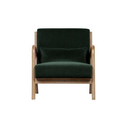 Woood Fotel Mark velvet zielony 373811-F, kolor zielony