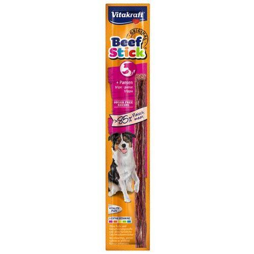 Vitakraft  beef stick kabanos dla psa z flaczkami wołowymi