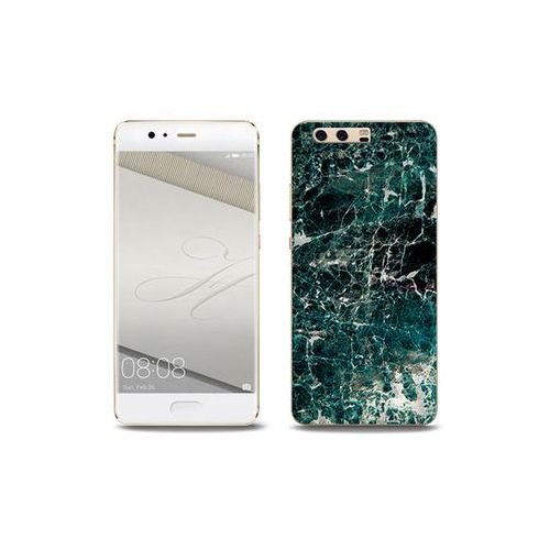 Fantastic Case - Huawei P10 Plus - etui na telefon Fantastic Case - zielony marmur