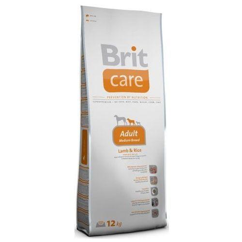 Brit Care Adult Medium Breed Lamb & Rice – karma dla psów dorosłych ras średnich, 1 kg (karma dla psa)