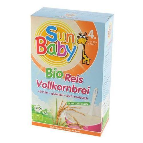 Baby sun 4 mc kaszka ryżowa bio 250g-  (4003246424032)