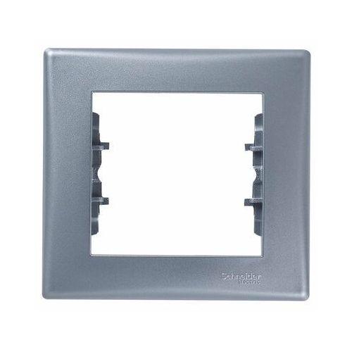 Sedna ramka Schneider pojedyncza aluminium SDN5800160 (8690495036749)