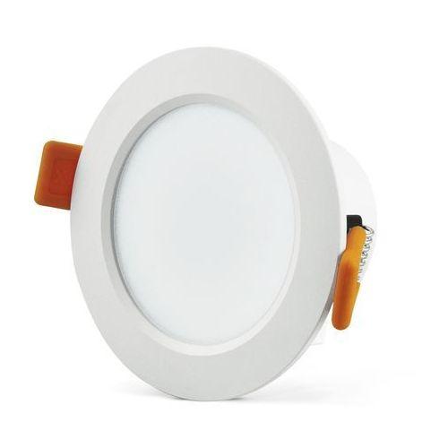Oprawa podtynkowa 6,3W LED VENUS 470 lumenów biała 3608 POLUX/SANICO - wysyłka 24h (na stanie 19 sztuk)