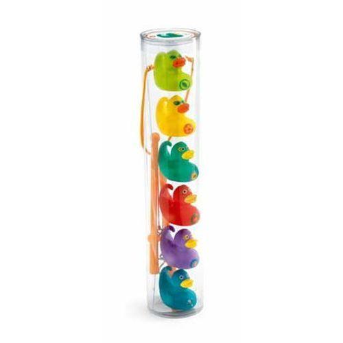 Gra zręcznościowa Łowienie kaczuszek małe kolorowe - Djeco - produkt z kategorii- Gry dla dzieci