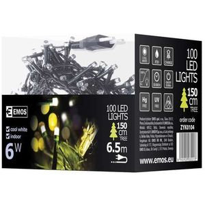 Emos Lampki choinkowe 100 led 5m ip20 dl