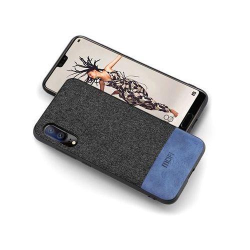 Etui mofi eleganckie tkanina Huawei P20